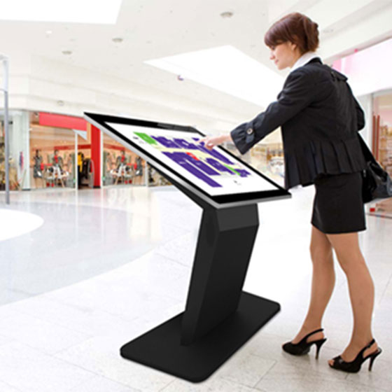 Pedestal Base Touch Screen Kiosks
