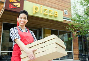 Leading Global Pizza Chain Implements 3M MicroTouch Displays for Food Service Ordering