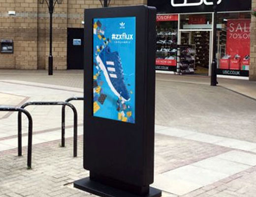Outdoor Totem Kiosks
