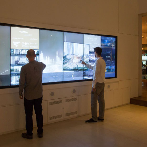 Multi-Touch Walls