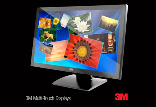 3M™ Launches High-Performance Multi-Touch Monitors at CES 2012