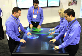 3M™ Previews 84-inch Multi-touch Display