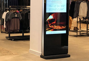 "50"" Commercial All-in-One Touch Kiosk"