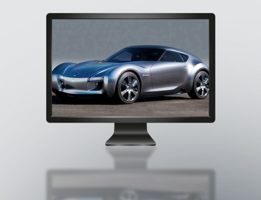 Touch Monitor 17.3""