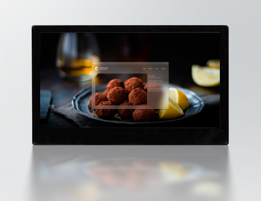 Touch Monitor 75""