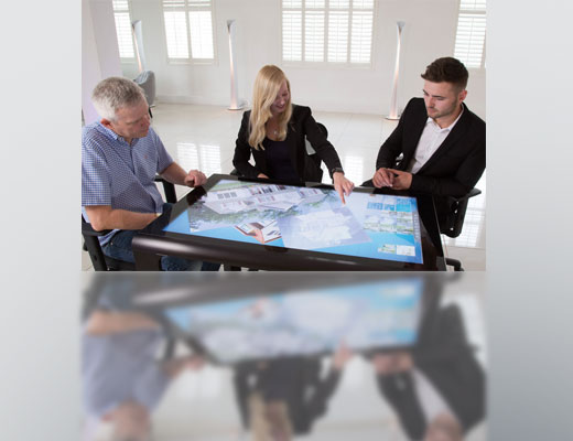 "46"" TOUCH SCREEN TABLES"