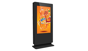 Dual Touch Screen Outdoor Totem Kiosk, 4K HD Touch Screen Monitor