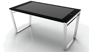 Interactive Multi-Touch Table, 850mm high, built-in PC Touch Screen Monitor