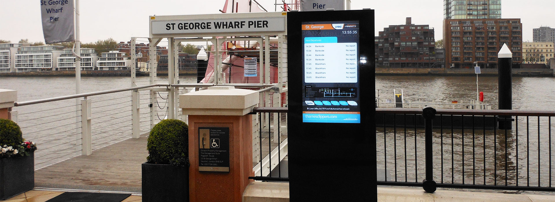 Totem Kiosks Outdoor