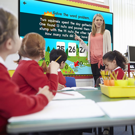 Interactive Whiteboard 55""